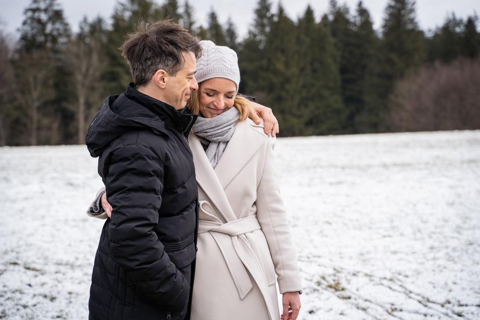 Sturm der Liebe: Robert und Lia unterstützen sich gegenseitig, wo sie nur können.