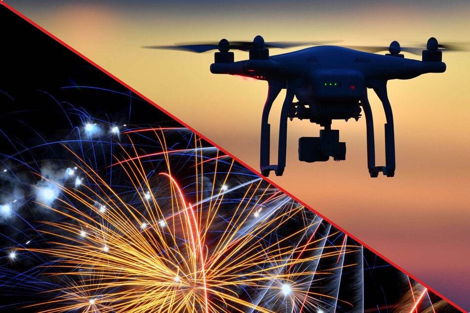 Feuerwerk bald Geschichte? Düsseldorf plant Drohnen-Show für Silvesternacht
