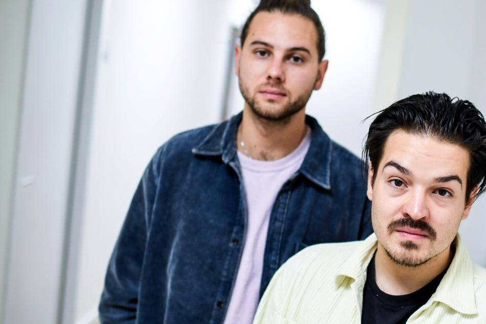 """Das Foto aus dem Oktober 2019 zeigt die Musiker Clemens Rehbein (r) und Philipp Dausch der Band """"Milky Chance""""."""