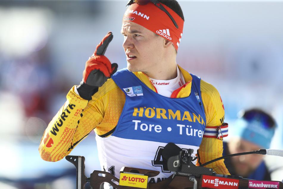 Nach nicht eindeutigem Corona-Test: Biathlet Horn beim Weltcup in Hochfilzen wieder da