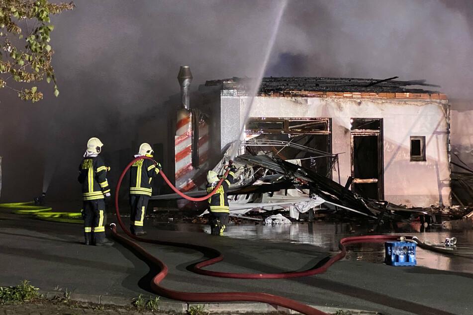 Verletzt wurde bei dem Brand am frühen Samstagmorgen niemand