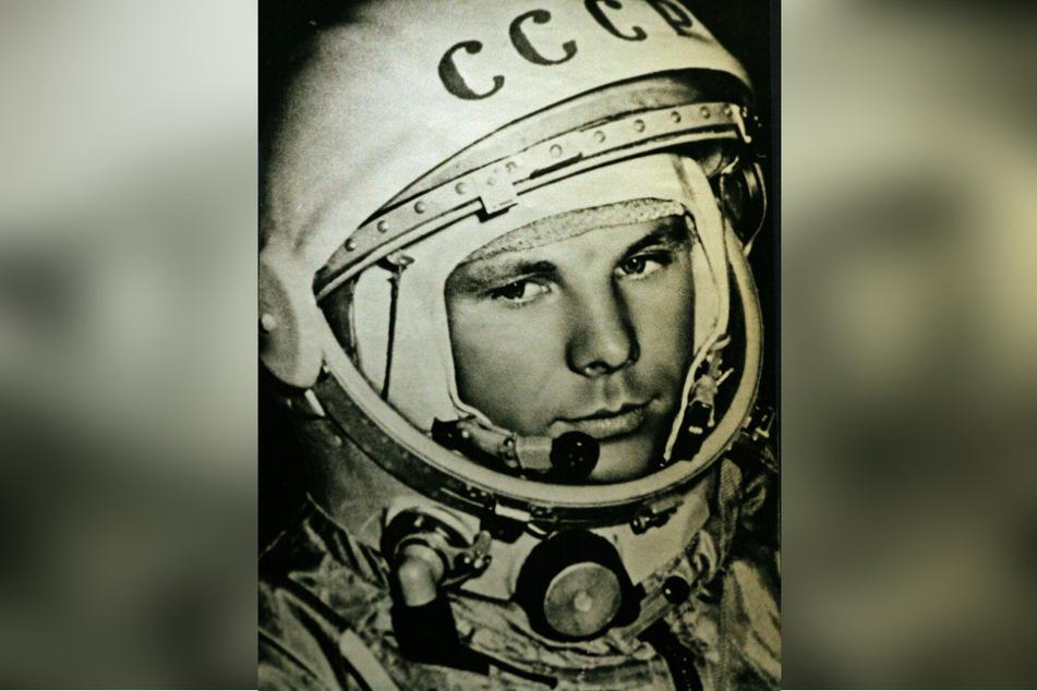Der Russe Juri Gagarin (1934-1968) war der erste Mensch im All, begeisterte damit Generationen.