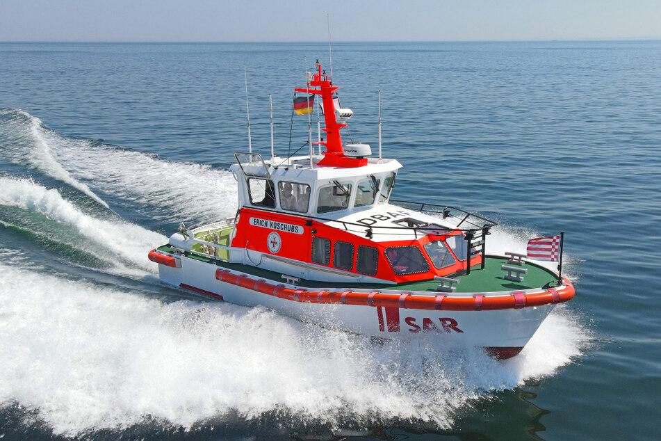 Dieses Seenotrettungsboot war am Einsatz tatsächlich beteiligt.