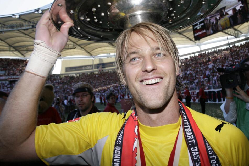 Im Jahr 2007 wurde Timo Hildebrand (41) mit dem VfB Stuttgart Deutscher Meister. (Archivbild)