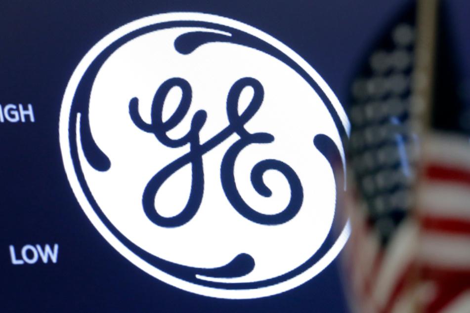 Das Logo von General Electric (GE) ist in der New Yorker Börse zu sehen.