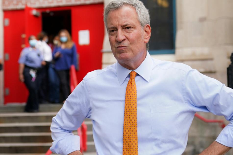 New Yorks Bürgermeister Bill de Blasio.