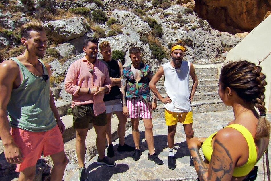 Aufs actionreiche Gruppendate freuen durften sich Daniel, Ioannis, Moritz, Angelo und Rouven (v.l.n.r.).