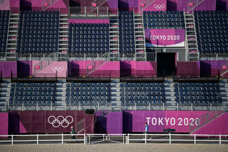 The stands in the Equestrian Park will remain empty throughout the 2020 Olympics.