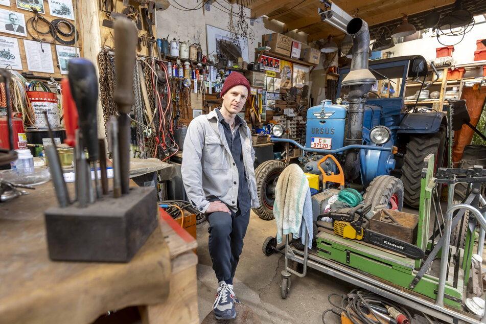 Garagen als Ort der Kultur stellt Benjamin Gruner (31) als Projekt für 2025 in St. Petersburg vor.