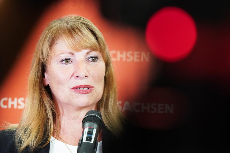 Petra Köpping (SPD, 62), Sozialministerin von Sachsen.