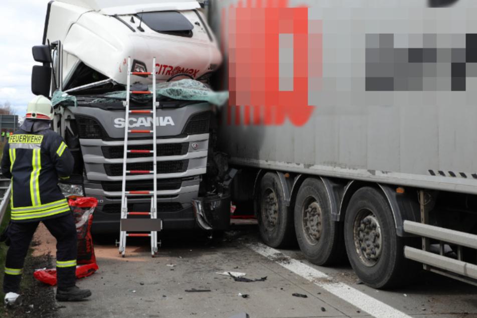 Dresden: Unfälle auf der A4: Zwei schwere Crashs innerhalb einer Stunde!