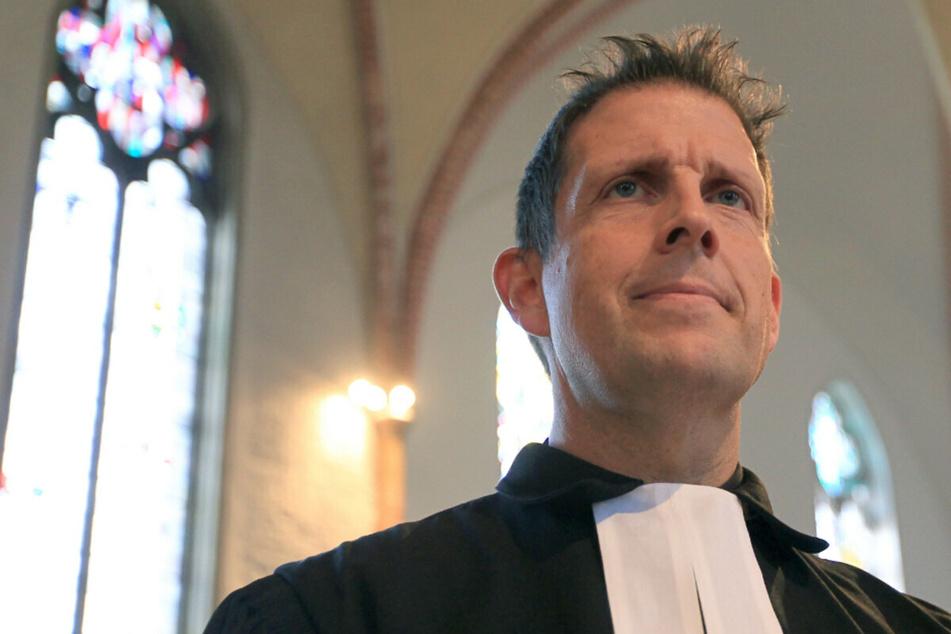 Olaf Latzel ist Pastor der Bremer St. Martini-Gemeinde und umstritten. (Archivbild)