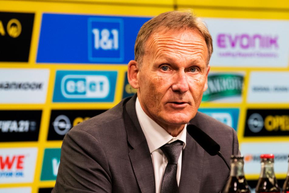 BVB-Geschäftsführer Hans-Joachim Watzke (61) sagte im ZDF klar seine Meinung.
