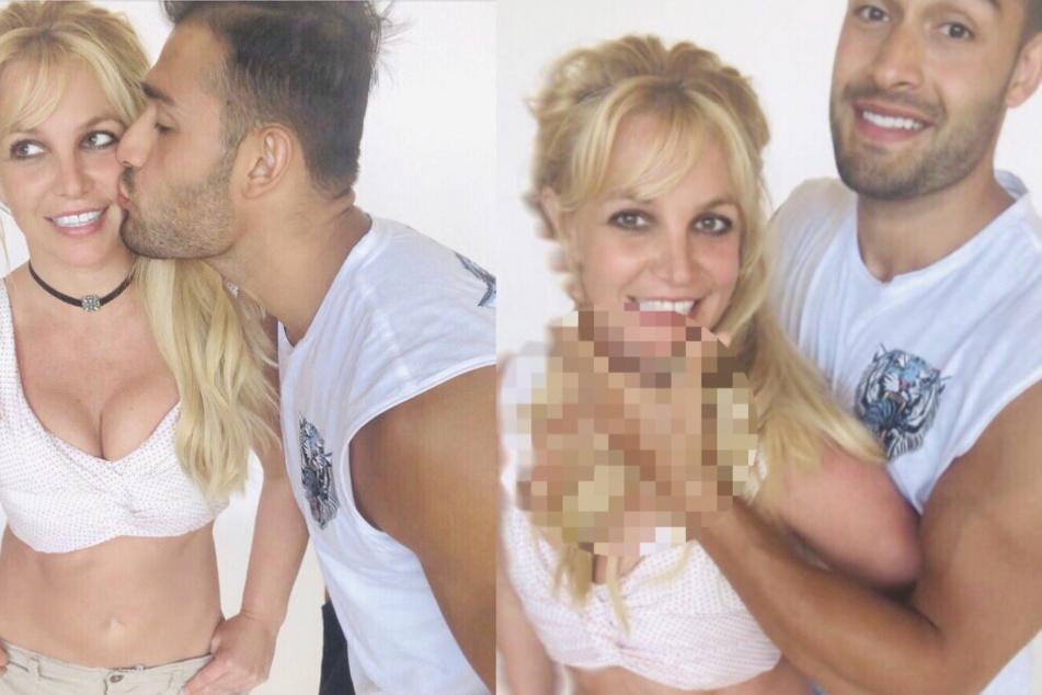 Britney Spears teilt Pärchenbilder auf Instagram, doch etwas daran stimmt nicht