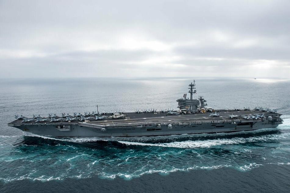 Der US-Flugzeugträger USS Theodore Roosevelt.