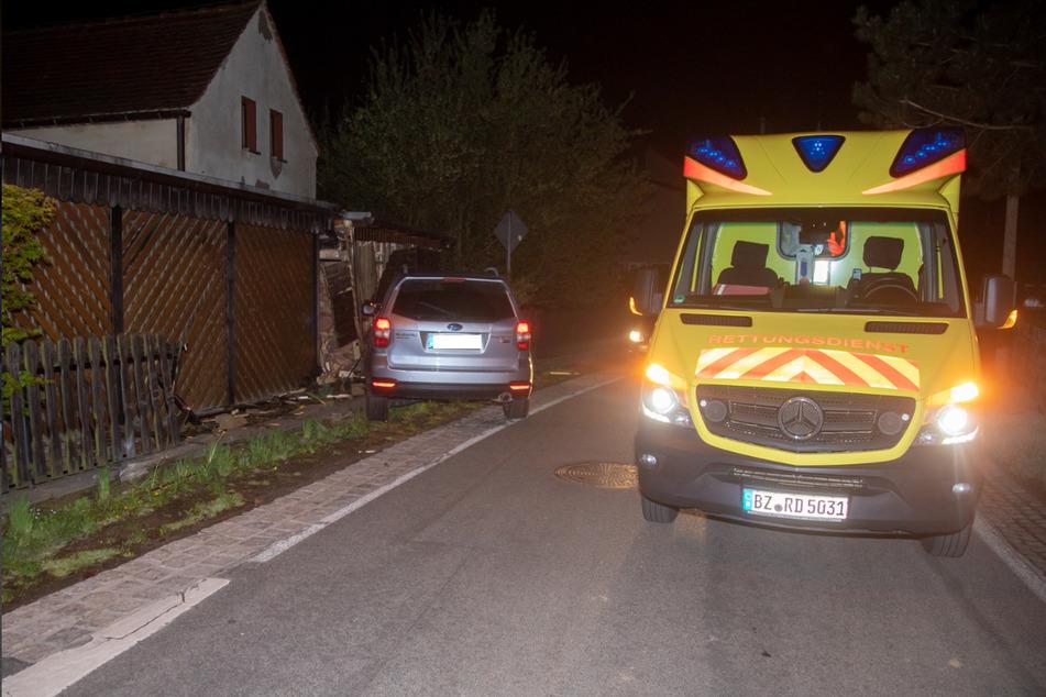 Die Subaru-Fahrerin wurde bei dem Unfall leicht verletzt und wurde ambulant behandelt.