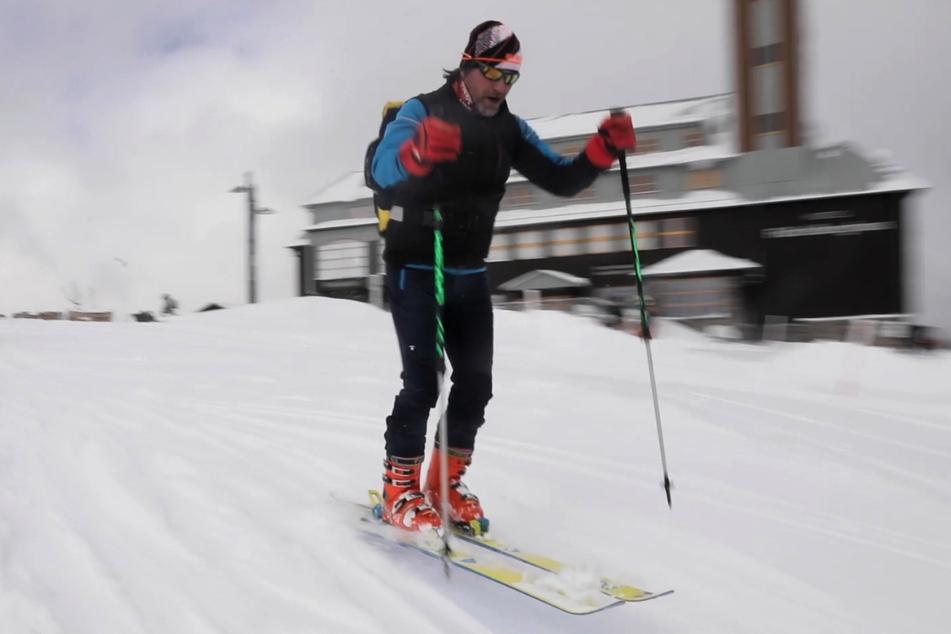 Frostiger Frühlingsanfang in Sachsen: Ski-Spaß im Erzgebirge