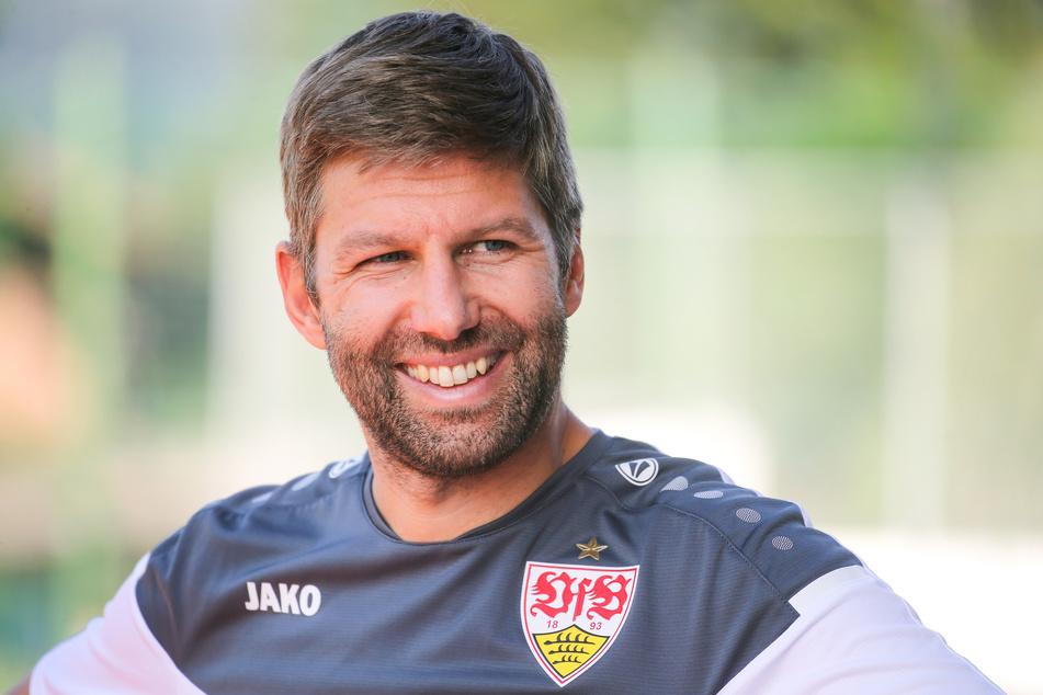 Thomas Hitzlsperger, Vorstandsvorsitzender des VfB Stuttgart, im Trainingslager im österreichischen Kitzbühel.