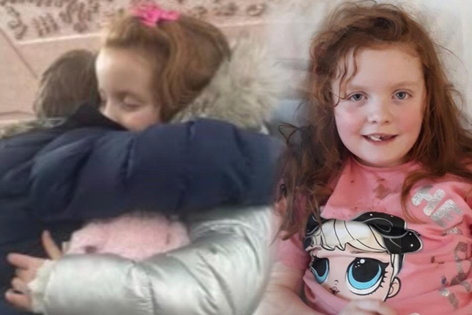 Kleines Mädchen klagt über Halsschmerzen, jetzt hat sie nur noch wenige Monate zu leben