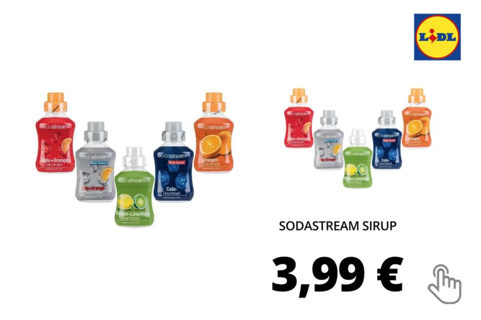 Sodastream Sirup