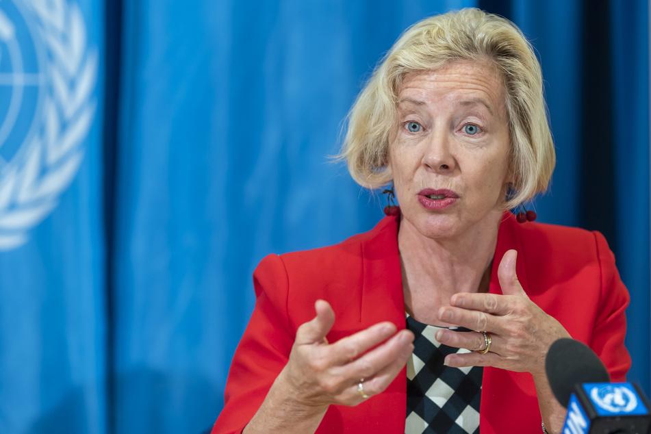 Emer Cooke (60), Direktorin der Abteilung für Regulierung und Präqualifikation der Weltgesundheitsorganisation (WHO).