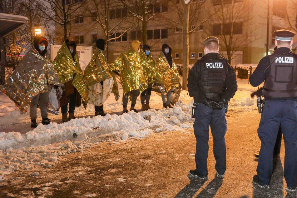 Sechs junge Flüchtlinge wurden in Dresden von der Polizei erwischt.