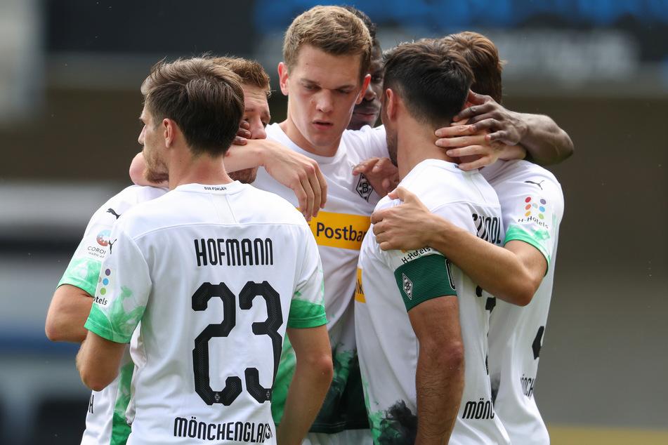 Wechsel noch in diesem Jahr? Matthias Ginter (27, M.) von Borussia Mönchengladbach soll auf dem Wunschzettel des FC Bayern München stehen.