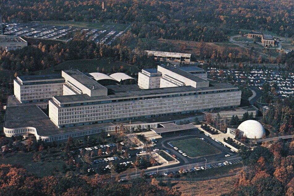 Law enforcement shot a suspect outside CIA headquarters on Monday evening.