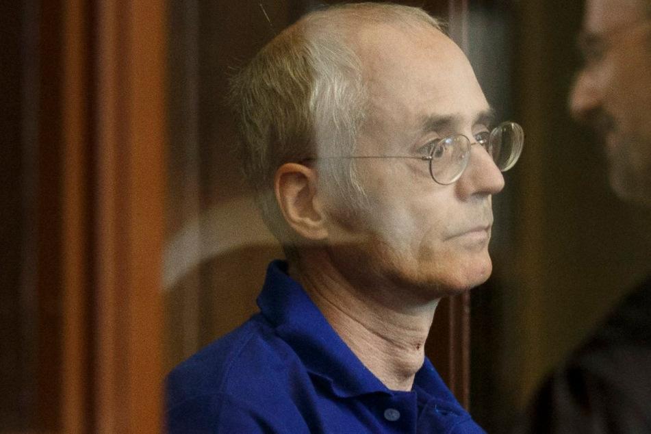Der 57-jährige Angeklagte vor dem Prozess.