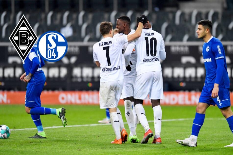 Schalkes Krise spitzt sich weiter zu: Gladbach haut S04 weg!