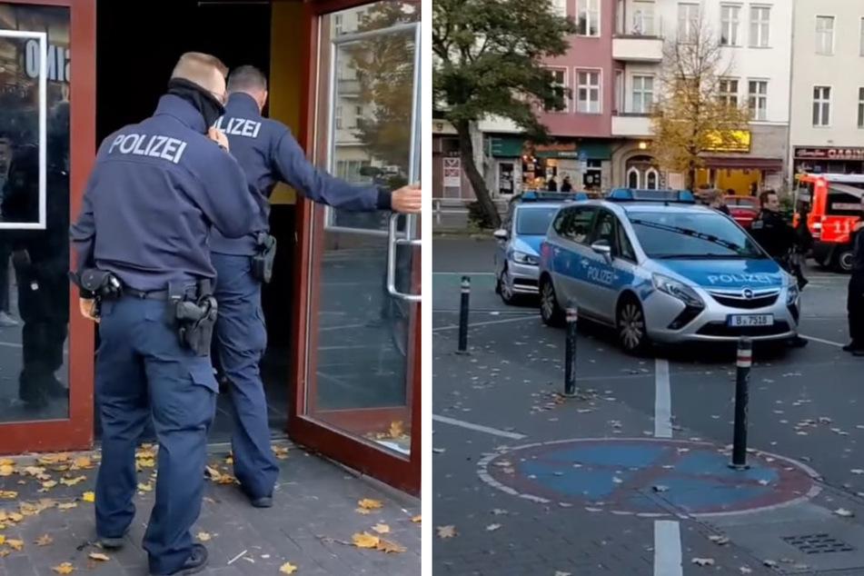 Viel Trubel um einen Videodreh: Plötzlich kamen Polizei und Feuerwehr angebraust.