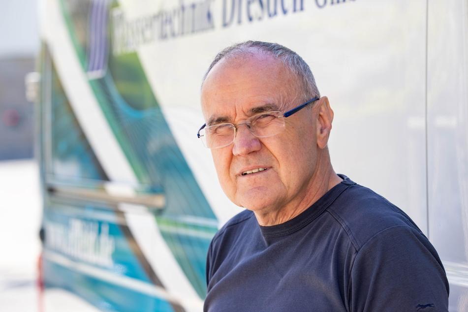 Wassertechnik-Chef Detlef Eilfeld (61).