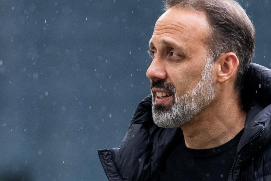 VfB-Coach Pellegrino Matarazzo (43) spricht nicht gern über Europa.