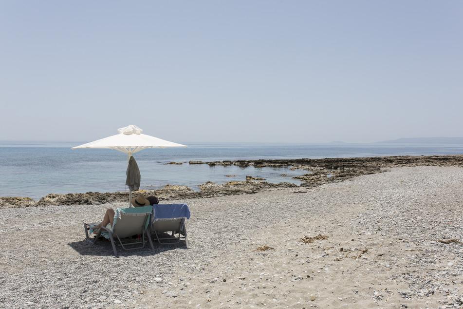 Werden die Strände in Griechenland nun wieder leerer?