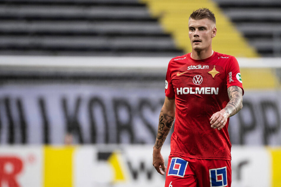 Eric Smith (23) trägt ab sofort das Trikot vom FC St. Pauli.