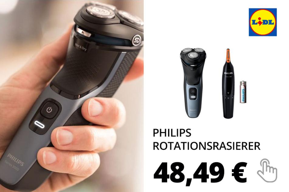 PHILIPS Rotationsrasierer »S3133«, mit ausklappbarem Präzisionstrimmer, abwaschbar