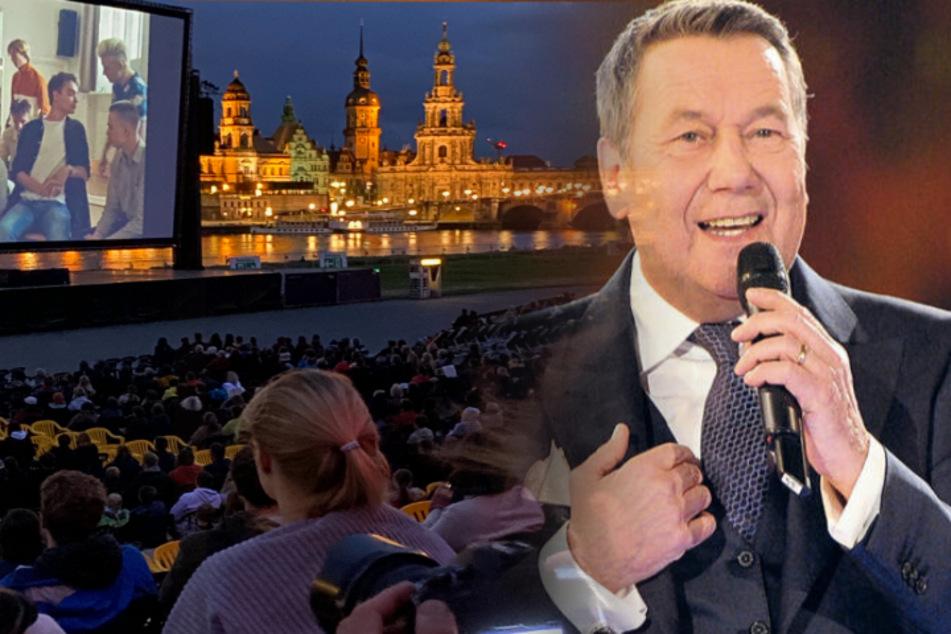 """""""30 Jahre Filmnächte am Elbufer, 30 Jahre Konzerterlebnisse, 30 Jahre Kinoerlebnisse - eine einmalige Geschichte in einer wunderbaren Stadt"""", schwärmt Schlagersänger Roland Kaiser (69)."""