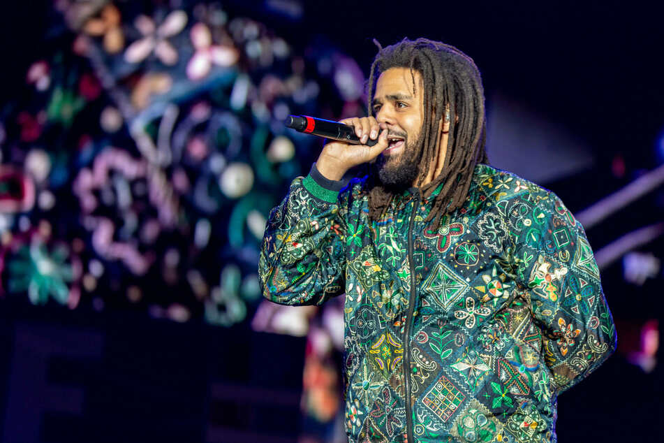 J. Cole emerged on Instagram to announce his latest album's release date.