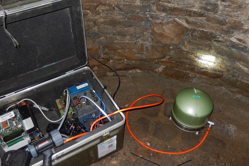 Mit solch einem Gerät können Forscher die Stärke eines Erdbebens messen. (Symbolbild)