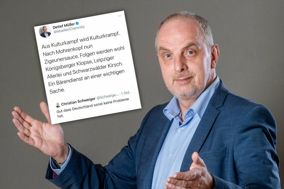 Rassismus-Vorwurf wegen Tweet von Chemnitzer SPD-Politiker Detlef Müller