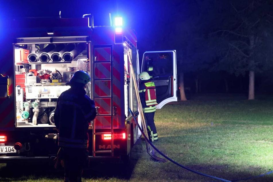 Die Feuerwehr musste am späten Montagabend in den Leipziger Westen ausrücken.