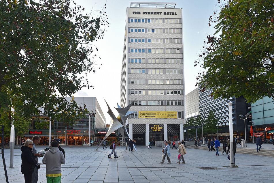 """Das """"The Student Hotel"""" auf der Prager Straße wird vorübergehend geschlossen."""