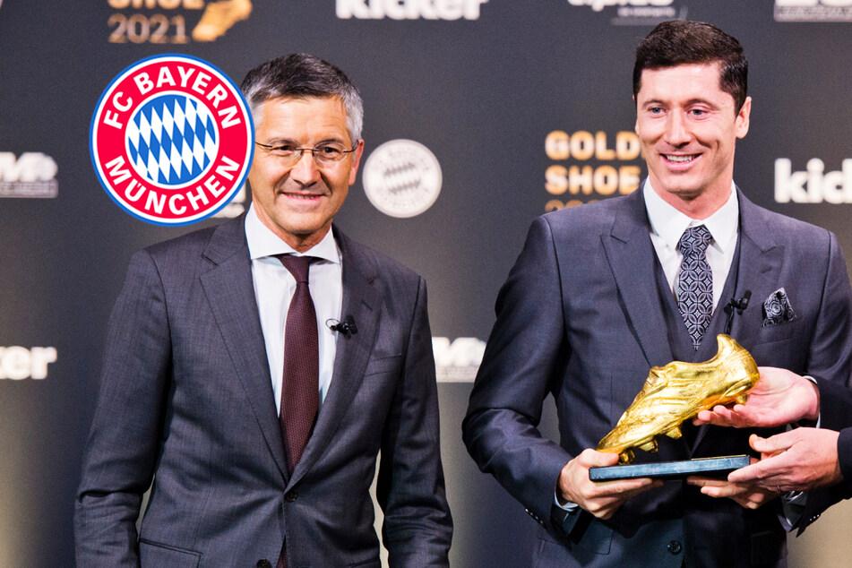 "Bester Torjäger Europas: Lewandowski erhält ""Goldenen Schuh"""