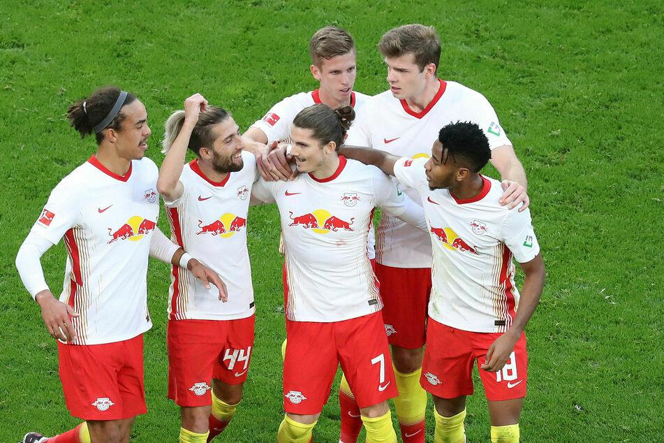 RB Leipzig bleibt weiter Bundesliga-Tabellenführer.