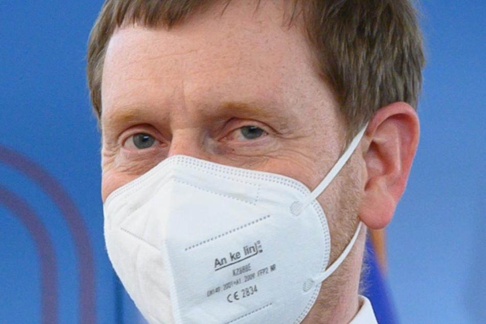 "Am heutigen Abend ist erneut ein Ministerpräsident am ""Lanz-Start"": Michael Kretschmer (45, CDU)."