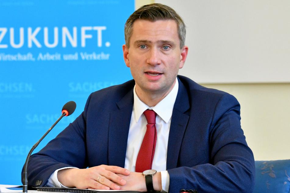 Sachsens Wirtschaftsminister, Martin Dulig (46, SPD).