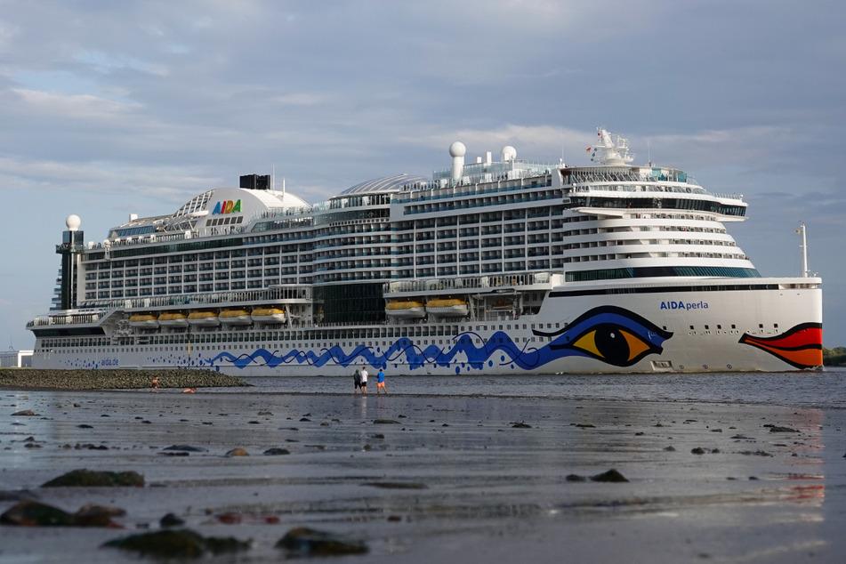 """Kreuzfahrtschiff """"Aidaperla"""" soll endlich den Saison-Neustart einläuten"""