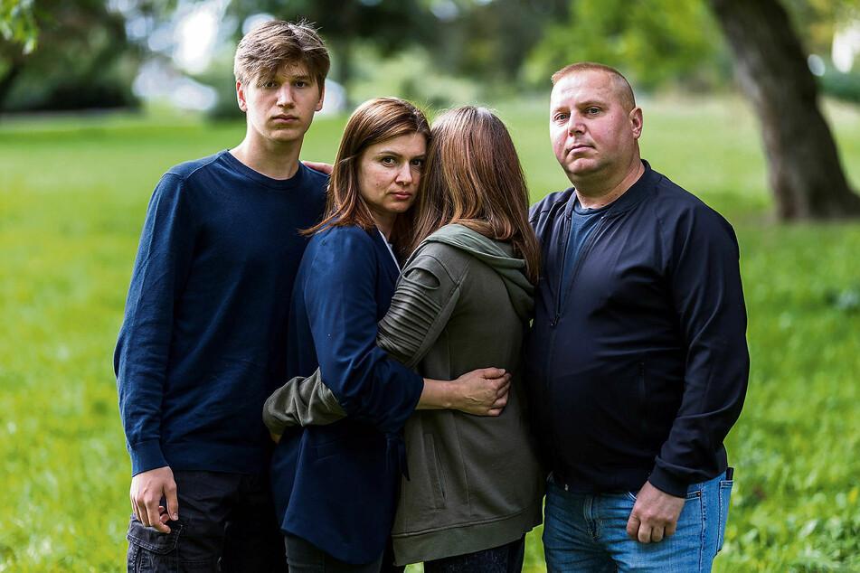 Der 2010 aus der Ukraine eingewanderten Familie Fliak droht nach fast elf Jahren die Abschiebung. Die Kinder, die in Taucha aufs Gymnasium gehen, sprechen gar kein Ukrainisch.