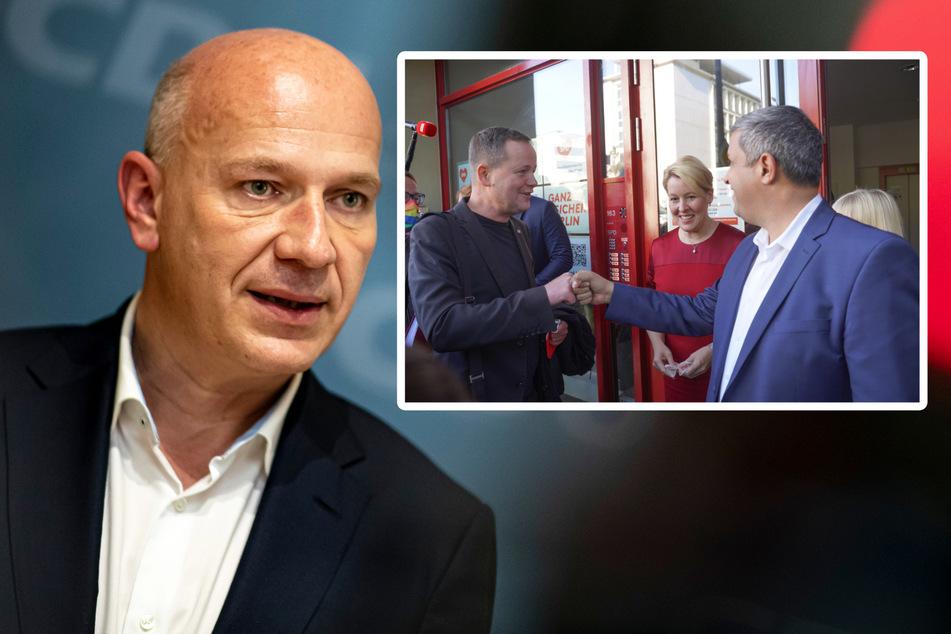Berliner Linke umgarnt SPD mit Käsekuchen! Grätscht die CDU dazwischen?