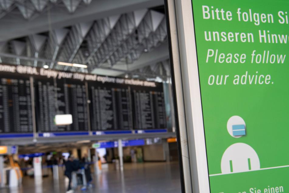 Wegen der Corona-Krise wurden zahlreiche Flüge abgesagt.